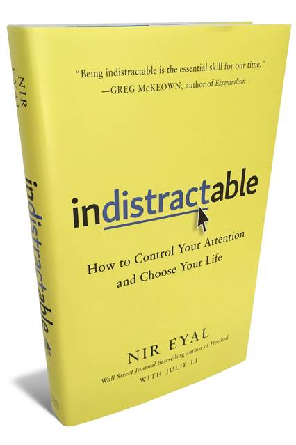 indistractable book nir eyal