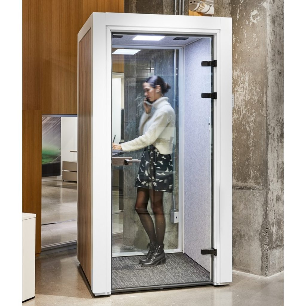 Mute Box Office Phone Booth by Artopex