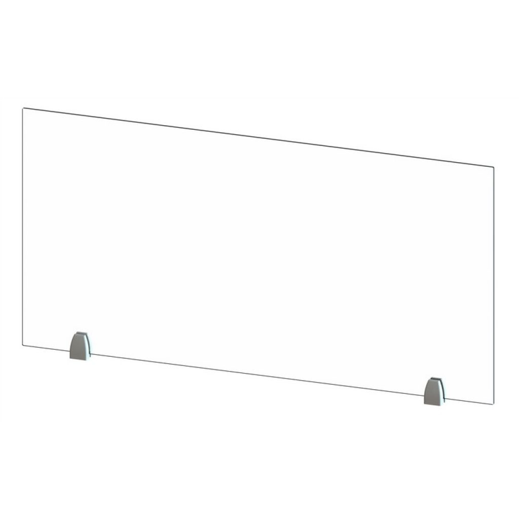 Belair Clear Acrylic Barriers With Metal Mounts (All Sizes)