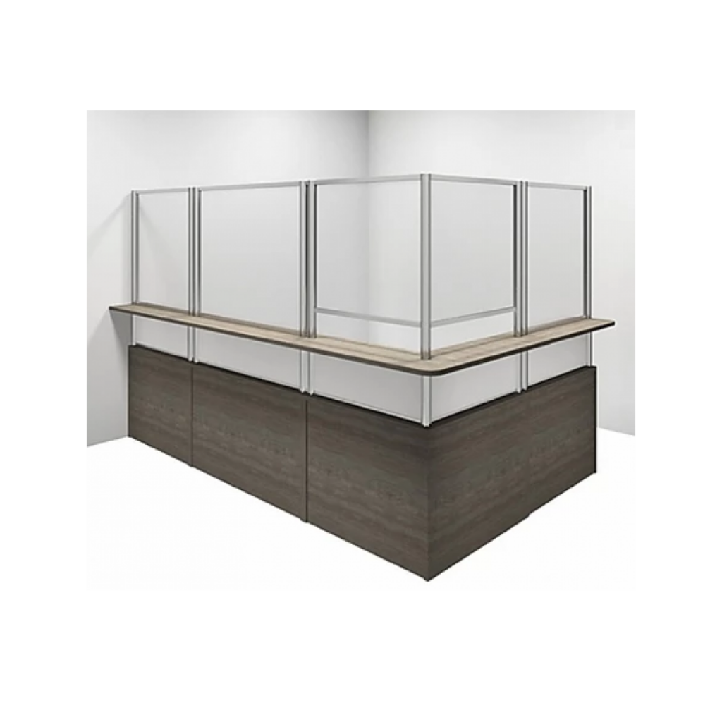 Clear Barriers for Reception Desks