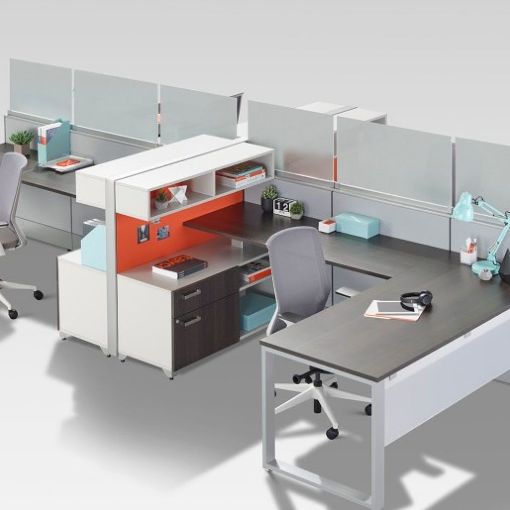 Extend Cubicle Panels - Tayco Blade Workstation Shield Glass