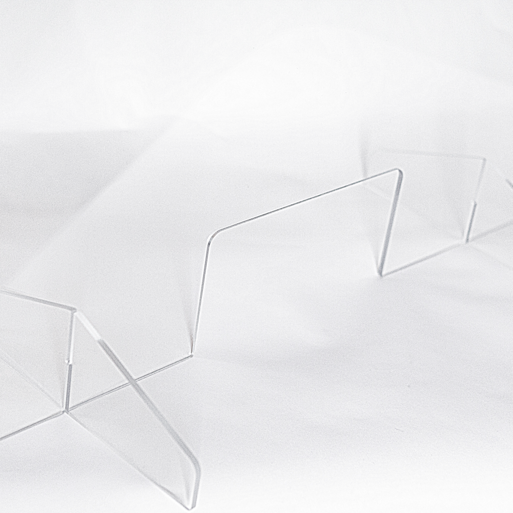 Belair Clear Acrylic Barriers - Freestanding (All Sizes)