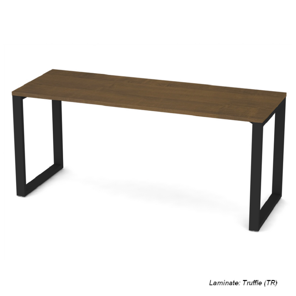 Belair Lite Office Desk with Metal Legs  (Get it Faster Sizes & Finishes)