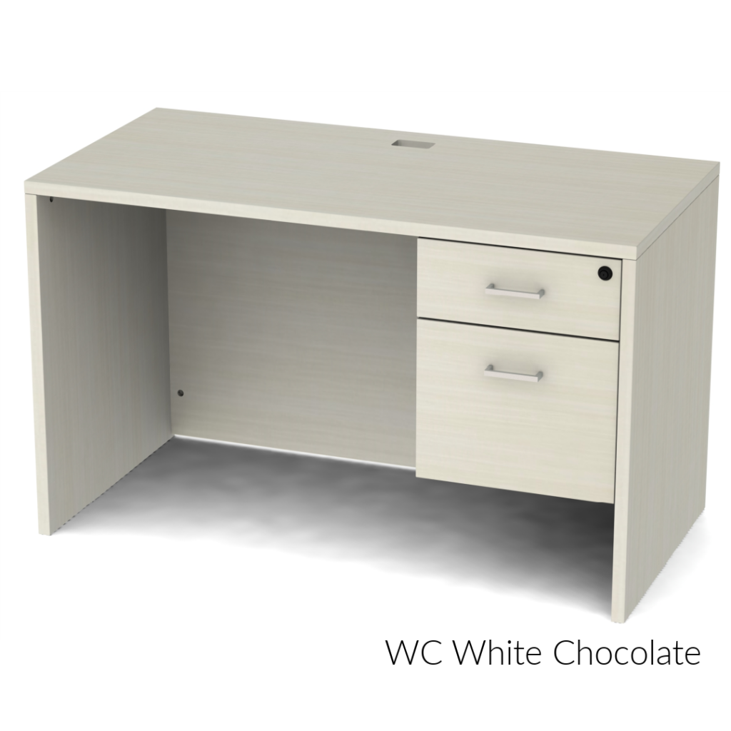 Belair Lite Small Office Desk with Full Modesty (All Finishes)