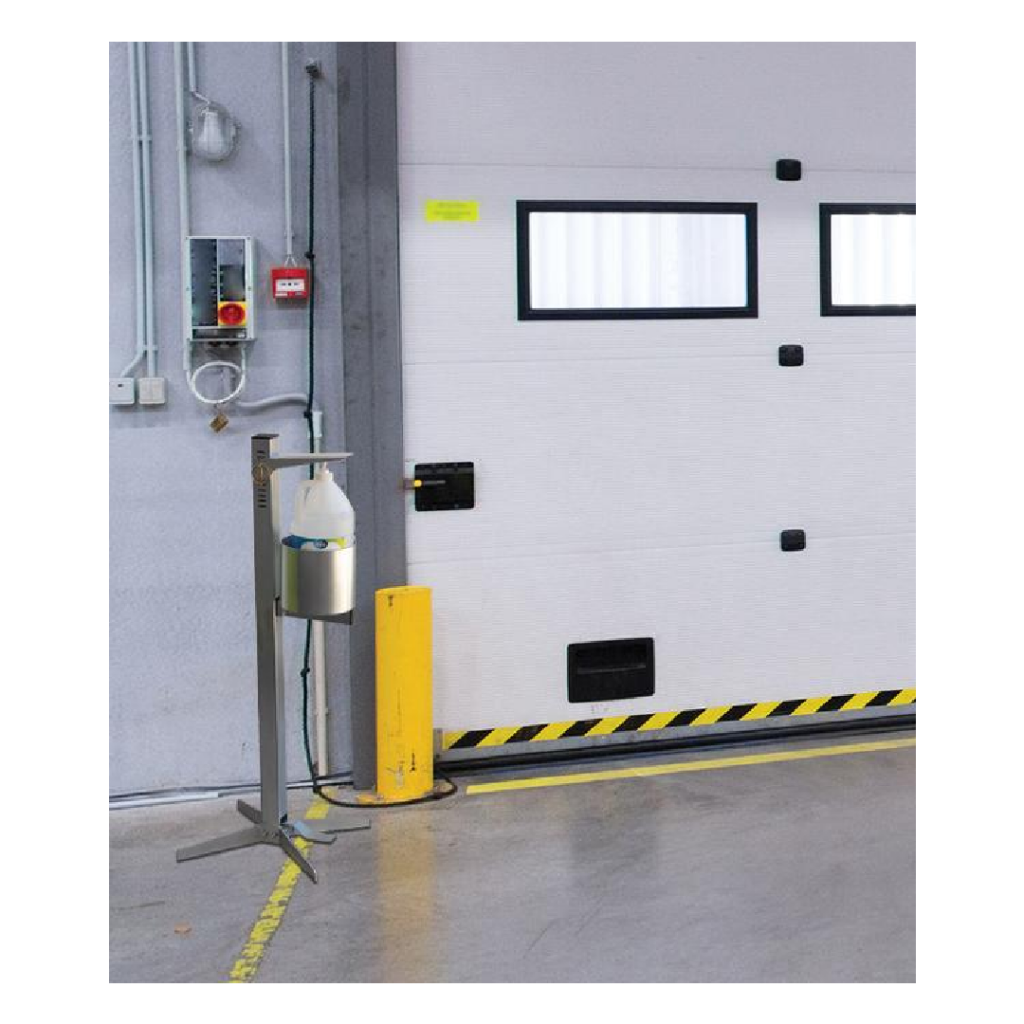 Foot pedal hand sanitizer station - Industrial for Workplace & Warehouse