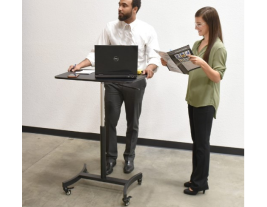 Mobile Adjustable Standing Desk - Non-Electric