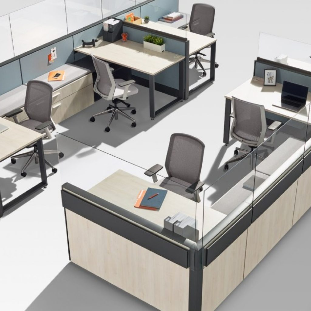 Extend Cubicle Panels - Tayco Panel Shield Glass