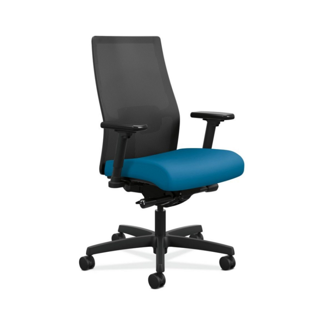 HON Ignition 2.0 Mesh Back Task Chair - Simply Black