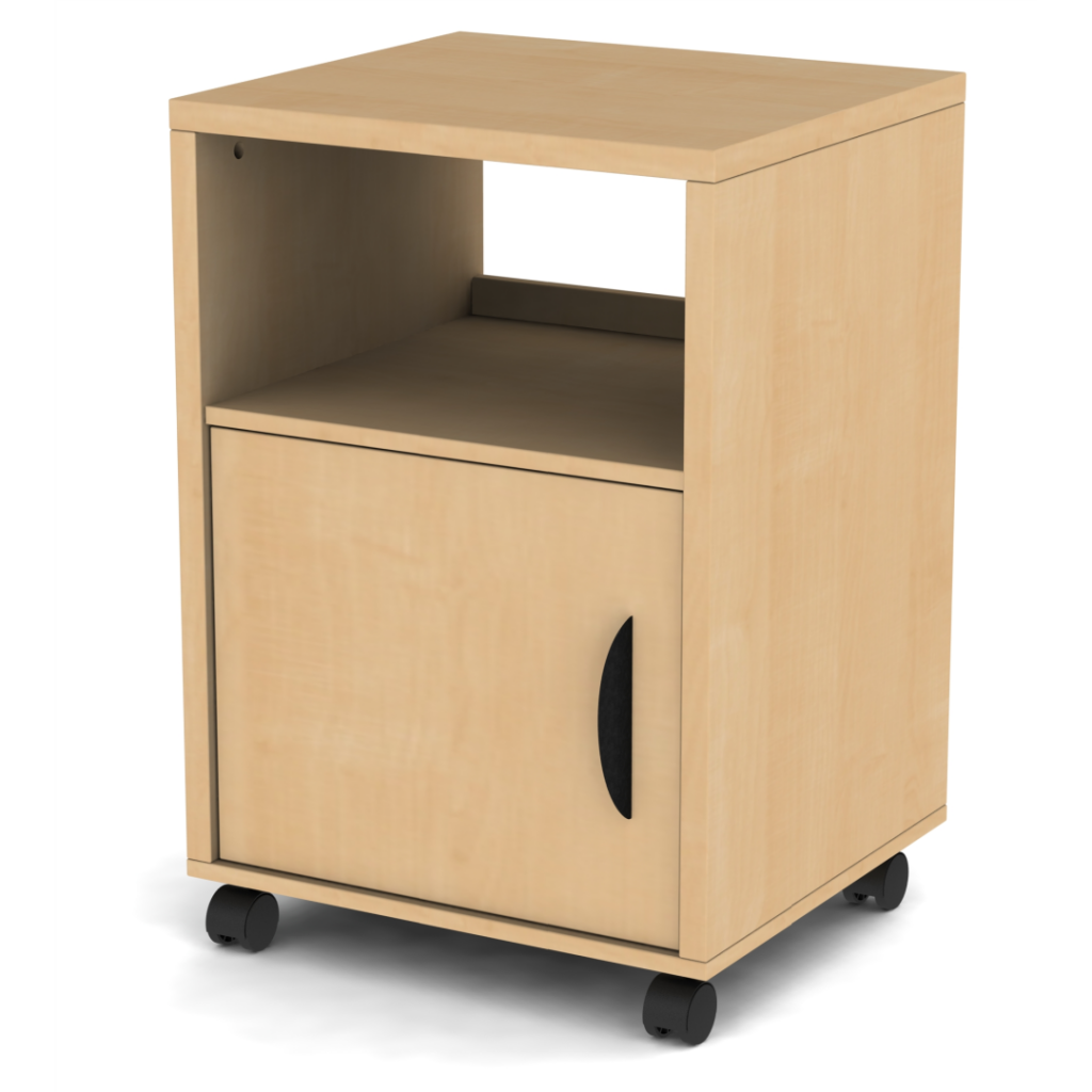 Belair Mobile Stand with Door - Assembled