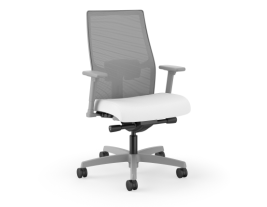 HON Ignition 2.0 Mesh Back Task Chair - White & Grey